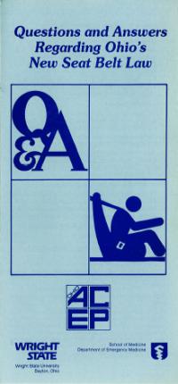 Q A Ohio Seatbelt Law
