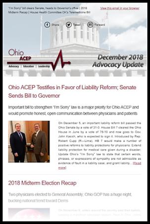 Dec 2018 Advocacy Update Thumb