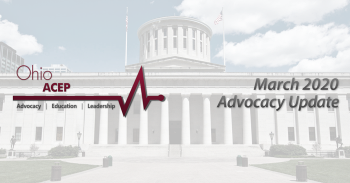 March 2020 Advocacy Update header